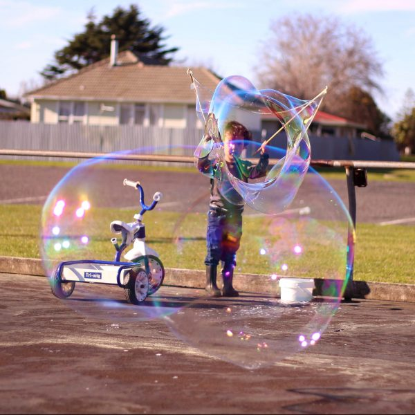 Big Bubbles in Napier Skate Rink - Thumb