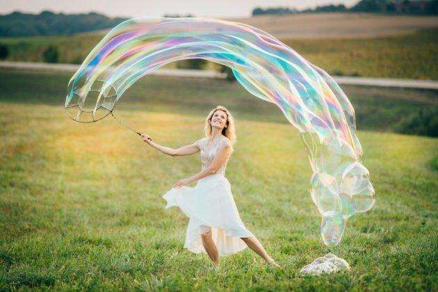 Experience the Joy of Giant Bubbles